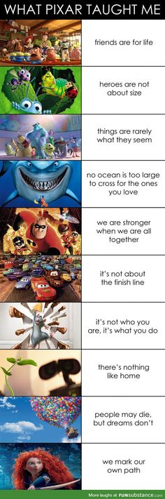 What pixar taught me