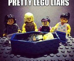 Pretty Lego Liars
