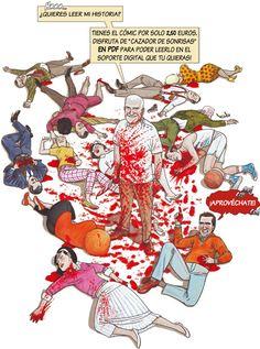 El cómic CAZADOR DE SONRISAS ya está a la venta en digital.  http://www.grafitoeditorial.com/cazador-de-sonrisas-digital-pdf/