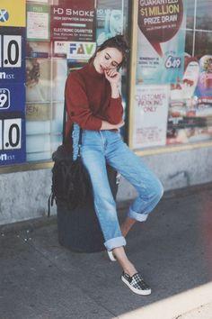 26 Trendy Ideas for moda casual outfits street fashion jeans Look Fashion, 90s Fashion, Autumn Fashion, Fashion Tips, Urban Fashion, Street Fashion, Vintage Fashion, Jeans Fashion, Fashion Mode