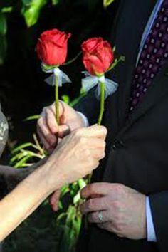 12 Best Rose Ceremony images | Ceremony, Rose, Single red rose