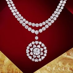 """6,766 Likes, 42 Comments - Graff (@graff) on Instagram: """"Meet a masterpiece - our double row diamond necklace, showcasing over 153 carats of magnificent…"""""""
