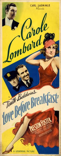 LOVE BEFORE BREAKFAST (1936) - Click Image to Close