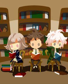 Chiaki, Hajime, and Nagito