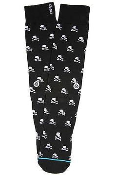 The Bullingdon Socks in Black Skull by Stance Socks