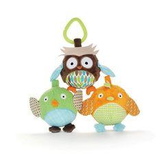 Skip Hop Treetop Friends Owl and Friends Ball (Set of 3)