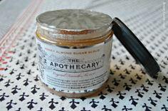The Apothecary Honey Almond Sugar Scrub