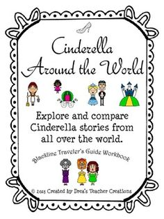 Aligned with ELA Common core standard RL.2.9.  2.RL.9 Compare and contrast two or more versions of the same story (e.g., Cinderella stories) by different authors or from different cultures.These BLANK reproducible workbook pages are perfect for students to record story elements (story title, setting, characters, problem, and solution) for Cinderella stories from other countries.