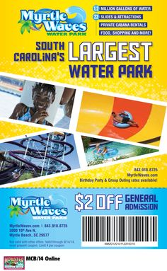 Whale's tale water park discount coupons