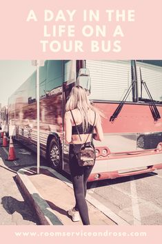 A Day In The Life On A Tour Bus  What is it like to live on a tour bus? Check this out to find out