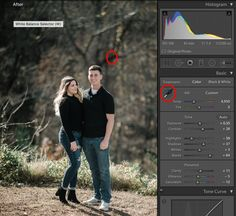 How to fix white balance in Lightroom
