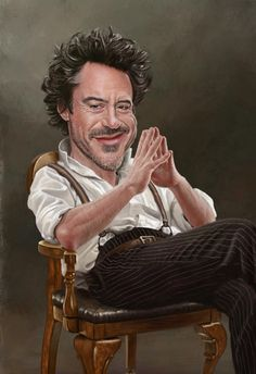 25 Beautiful Celebrity Caricature Drawings by Indian ...