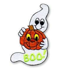 HALLOWEEN PARTY Badge Iron On Girl Boy Cub Scouts Fun Patch New!