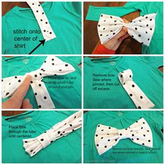 The Bow shirt – REFASHION for girls and women