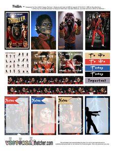 Thriller Planner Printable