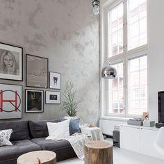 Heerlijk die ramen! Meer foto's via link in bio! #interior #interieur #interior2you #interior4all #interior  #bolig  http://www.inrichting-huis.com/woninginrichting/kleine-scandinavische-loft-woning/