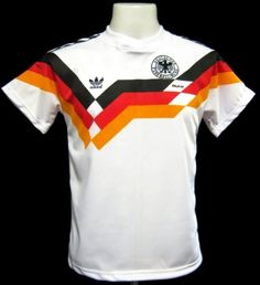 Germany 1990 World Cup Italia '90' Home Shirt