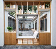 Xiezuo Hutong Capsule Hotel | B.L.U.E. Architecture Studio