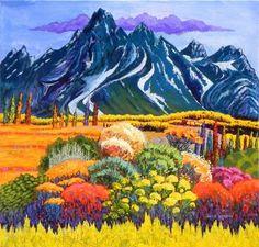 Gene Brown Teton Garden - Southwest Gallery: Not Just Southwest Art.