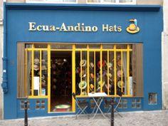 Ecua-Andino showroom in Paris #ecuaandino #ecuaandinohats #panamahat