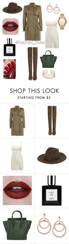 """""""Untitled #167"""" by talishaness-1 on Polyvore featuring Alexander Wang, Stuart Weitzman, Yves Saint Laurent, CÉLINE and Michael Kors"""