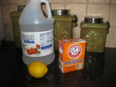Homemade garbage disposal cleaner. This really does work...I just tried it.