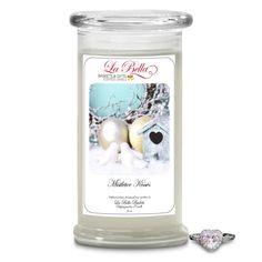 Mistletoe Kisses Scented Jewel Candle ~ $24.95