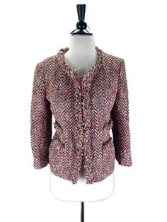 $325 J. Crew Collection Blushed Tweed Collier Jacket size 6 Small #JCrew #Jacket