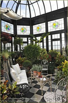 greenhouse_1 by Tanglewood Conservatories, via Flickr