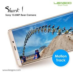 You are the selfie master with LEAGOO Shark1 13MP main camera.