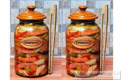 Pikantní utopenci Dips, Jar, Sauces, Jars, Dip, Glass, Vase