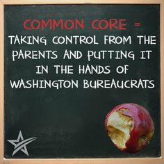 Preface: over 40 states committed to implement common core in order to apply for federal race to the top grant funds in they, not local school Common Core Education, Common Core Curriculum, Education Quotes, Kids Education, Education Reform, School Choice, Teaching Profession, Thing 1, Joy Of The Lord