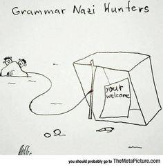 Grammar Nazi Huntrs