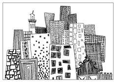Projet autour de l'album de Marjorie Béal : Et toute la ville s'éveille - Prépalipopette