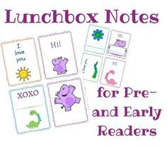 Craftaholics Anonymous® | Lunch Box Notes for Back to School