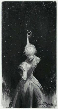 Image result for black and white girl reaching to star