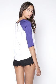 90s Lullaby - GAME TIME BLUE BASEBALL TOP, $14.00 (http://www.90slullaby.com/new-arrivals/game-time-blue-baseball-top/)