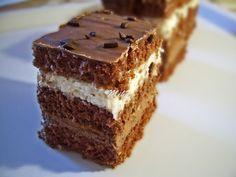 Prajitura cu nuci si ciocolata Cake with walnuts and chocolate Romanian Desserts, Romanian Food, Romanian Recipes, Cake Recipes, Dessert Recipes, Walnut Cake, Hungarian Recipes, Food Cakes, Cakes And More