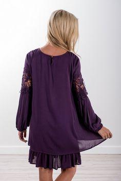 Lace Detail Dress!