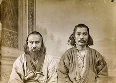 【Ainu Tribe: Japanese Race】Ainu men from Sakhalin, ca. 1900s by Bronislaw Pilsudski