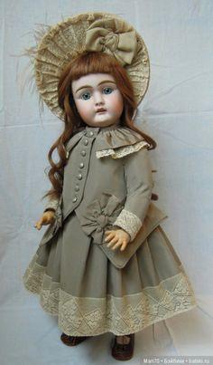 Костюм для антикварной куклы ростом 61-63см / Антикварные куклы, реплики / Шопик. Продать купить куклу / Бэйбики. Куклы фото. Одежда для кукол