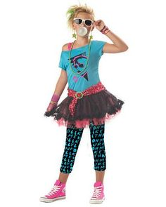 Tween Girls 80's Valley Girl   Thsi one for Trinity too