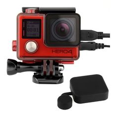 Goliton Waterproof Case Cover Compatible for GoPro Hero 7 Silver//Hero 7 White