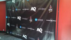 Let us help you create your own personalized Step & Repeat Banner with your logo! Great for photo ops at parties, grand openings, to promote your business and much more. #dreamscenesinc #stepandrepeat #vinylbanner #backdrop #background #photoop #logo #hudsonterrace #sponsors