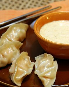 Chicken and Thai Basil Dumplings Recipe | Cooking | How To | Martha Stewart Recipes