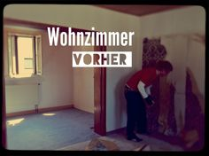 """Studentenfilm """"Alter Egon"""" Wohnzimmer vorher"""
