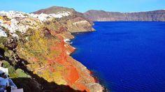 The many shades of Santorini