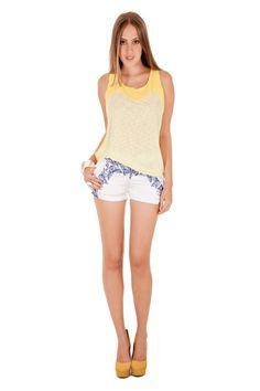 12327 - Blusa   05538 - Shorts