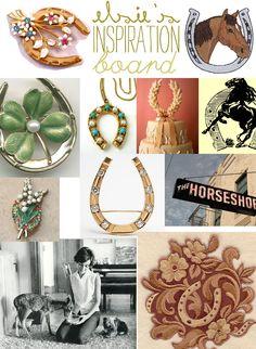 horseshoe collage