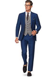 Suit Blue Plain Lazio P4807i | Suitsupply Online Store